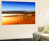 Boathouse Dream Wall Mural by Margaret Morgan