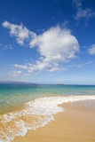 Oneloa Beach, Makena Beach, Big Beach, Makena State Park, Maui, Hawaii Photographic Print by Ron Dahlquist