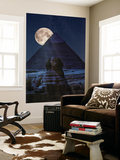 The Dark Side of the Pyramid Wall Mural by Marco Carmassi