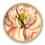 Flower Power II Clock by Bookman Deborah