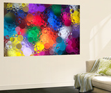 Color Explosion 2 Wall Mural by Margaret Morgan