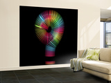 Slinky Question Mark Wall Mural – Large by Magda Indigo