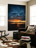 Vendee Sunrise Wall Mural by Philippe Manguin