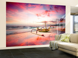 Indonesia Sunset Wall Mural – Large by Marco Carmassi