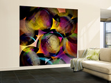 Abstract with Circles Wall Mural – Large by Ursula Abresch