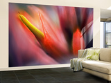 Paintbrush Wall Mural – Large by Ursula Abresch