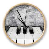 Piano Keys Clock by  alexroz