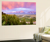Grand Teton nasjonalpark Veggmaleri av Art Wolfe