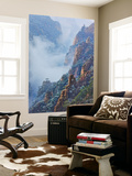 Mountain Mist Wall Mural by Yan Zhang