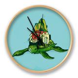 Turtle Fort Clock by Budi Kwan