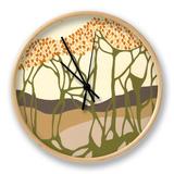 Living Wilderness I Clock