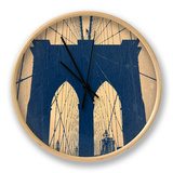 Brooklyn Bridge Clock by  NaxArt