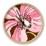 Petal Poetry V Clock by Slocum Nancy