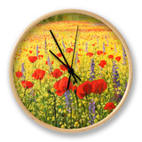 Sea Of Blossom Clock by  kirilstanchev