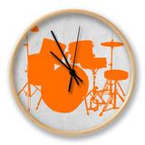 Orange Drum Set Klokke av  NaxArt