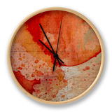 Emerge I Clock by Fagalde Jarman