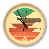 Go West Cycling Clock by Budi Kwan