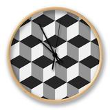 Boxes Illusion Copy Uhr von  yobidaba