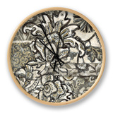 Graphic Chintz IV Clock
