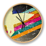 Retro Surfing Poster Clock by  kots