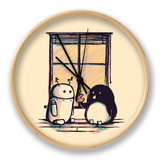 Mejores amigos Reloj por Budi Kwan