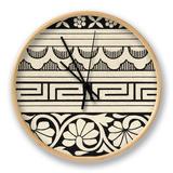 Ornamental Tile Motif III Uhr von  Vision Studio