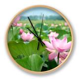 Lotus Flower Blossom Uhr von  videowokart