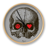 Peace, Love, Death Clock by Budi Kwan