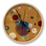 Celeste I Clock by Ludwig Alicia