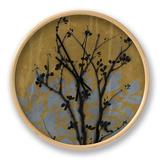 Branch in Silhouette VI Clock