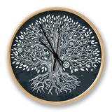 Beautiful Vintage Hand Drawn Tree of Life Clock by  transiastock
