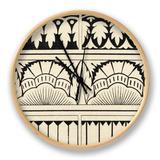 Ornamental Tile Motif VII Uhr von  Vision Studio