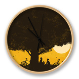 Under Giant Oak Tree Clock by Budi Kwan