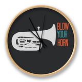 Blow Your Horn Poster Ur af NaxArt