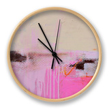 Sweet Emotion II Clock by Erin Ashley