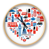 London Heart Clock by  Marish