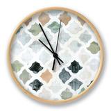 Turkish Tile II Uhr von Jodi Fuchs