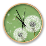 Vintage Floral Background With Dandelion Clock by  silvionka
