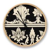 Ornamental Tile Motif II Uhr von  Vision Studio