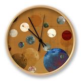 Celeste II Clock by Ludwig Alicia