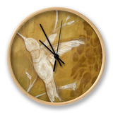 Wings and Damask II Clock