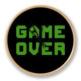 Game Over On A Green Grid Digital Display Uhr von  wongstock