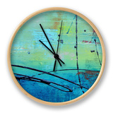 Venice Beach II Clock by Erin Ashley
