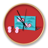 When Pig Fly Clock by Budi Kwan