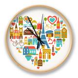 Pars Love - With Set Of Icons Uhr von  Marish