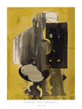 Untitled, 1944 Gicléetryck av Robert Motherwell