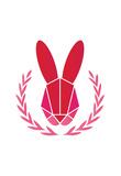 Paper Taxidermy Rabbit Print