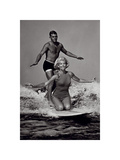 ¡Viva el surf! Lámina por  The Chelsea Collection