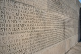 Wall of Names at Vimy Memorial Photographic Print by Michael St. Maur Sheil