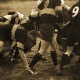 Rugby Game II Reproduction procédé giclée par Pete Kelly